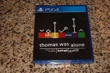 NEW Thomas Was Alone game by LIMITED RUN Games for the PS4 Sony PlayStation 4