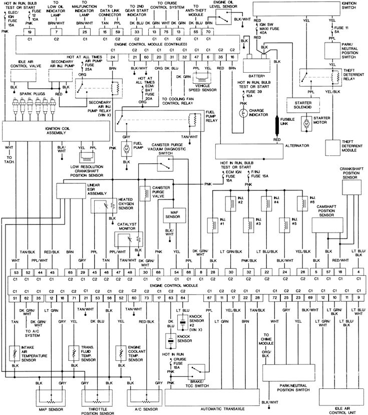 Repair Guides Wiring Diagrams Autozone Com Inside 1994