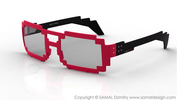 Pikselowe okulary EXAMPLE.PL