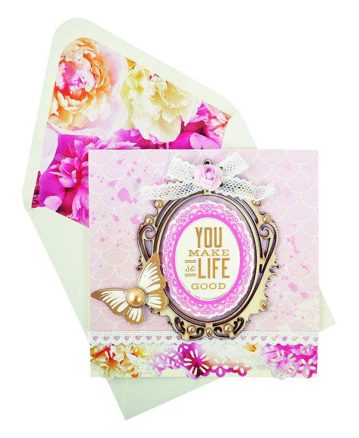 You make life so good card by Cathy Cafun
