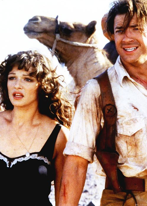Evelyn: I've dream about this since I was a little girl. Rick: You dream about dead guys? - The Mummy