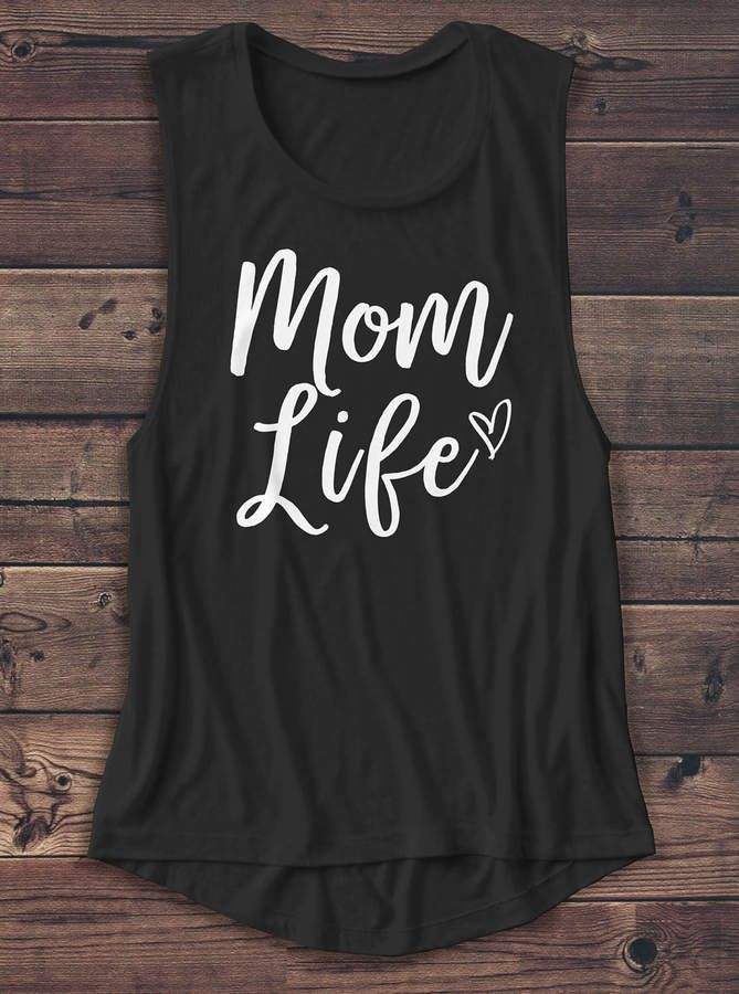 09298cb5b3 Etsy Mom Life - Women's Muscle Tee - Mother's Day - Mama - Gift - Birthday  - Muscle Tank - T Shirt - Grap