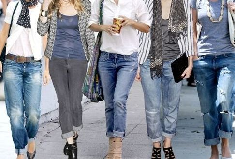 diverse models of women's jeans is up to date makes you look more elegant and looks very feminine