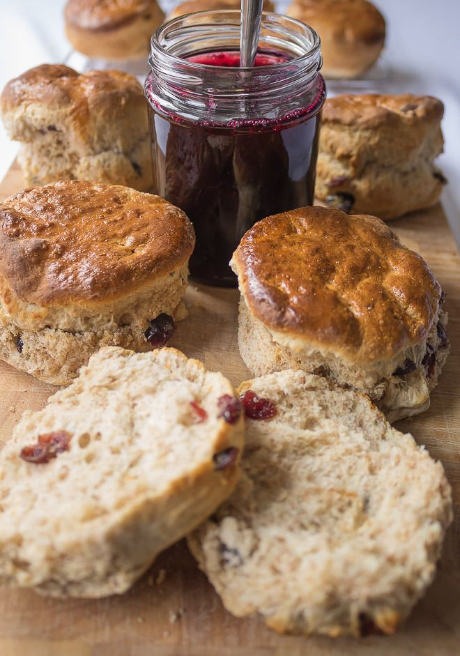 These wholemeal cranberry scones are a delicious, easy bake festive recipe but suitable for all year round!