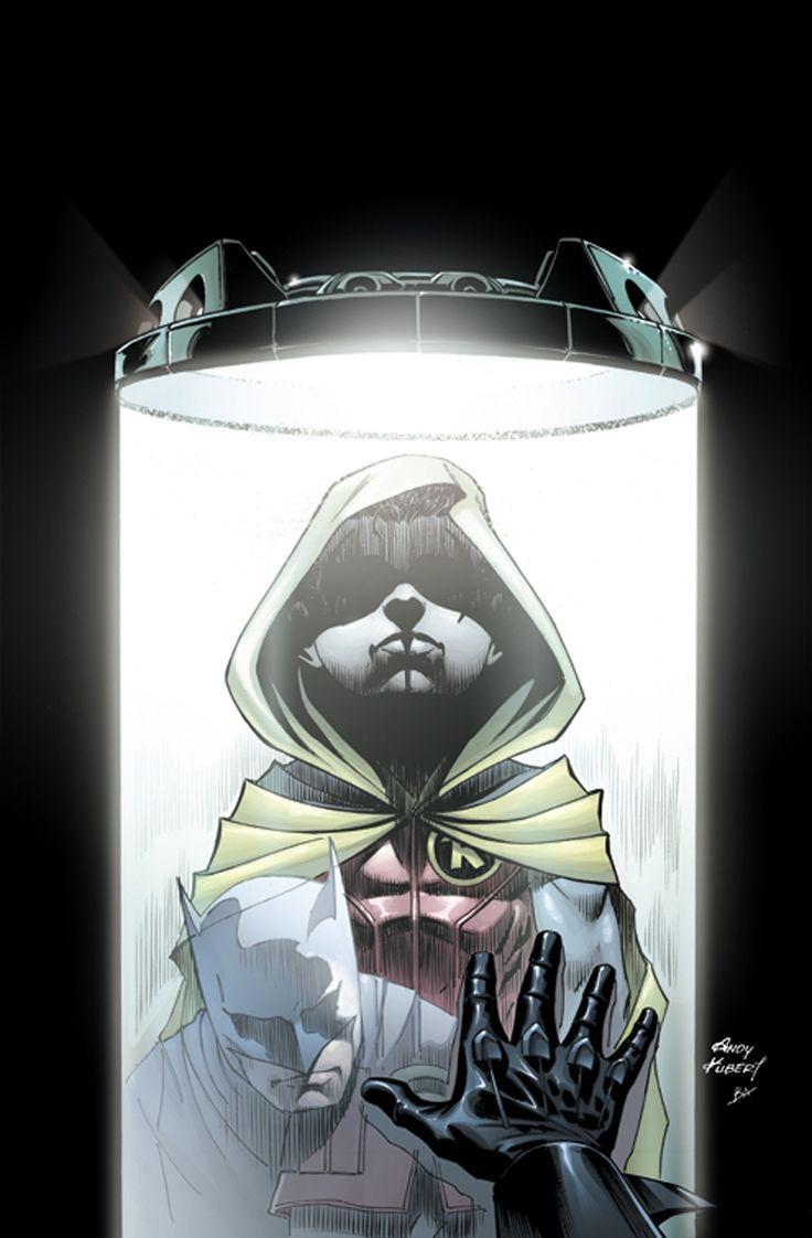 Batman #18 variant. (Batman, Robin, Damian Wayne) by Andy Kubert.