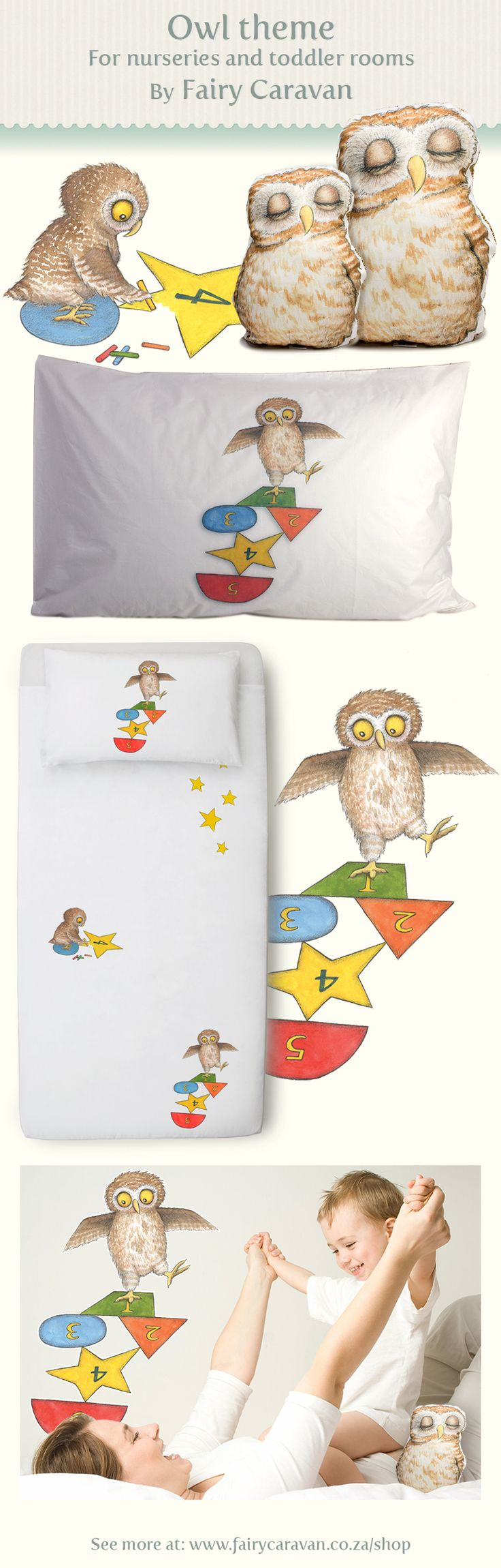 Some inspiration for creating your child's storybook room: Here are some Little Owl toddler room ideas to create an owl room for your special little person.
