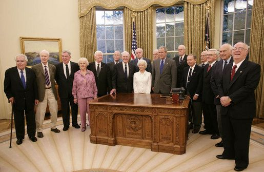 http://ift.tt/2rj7dP0 that the Oval Office Resolute Desk was a gift from Queen Victoria to President Rutherford B. Hayes made from the timber of the HMS Resolute