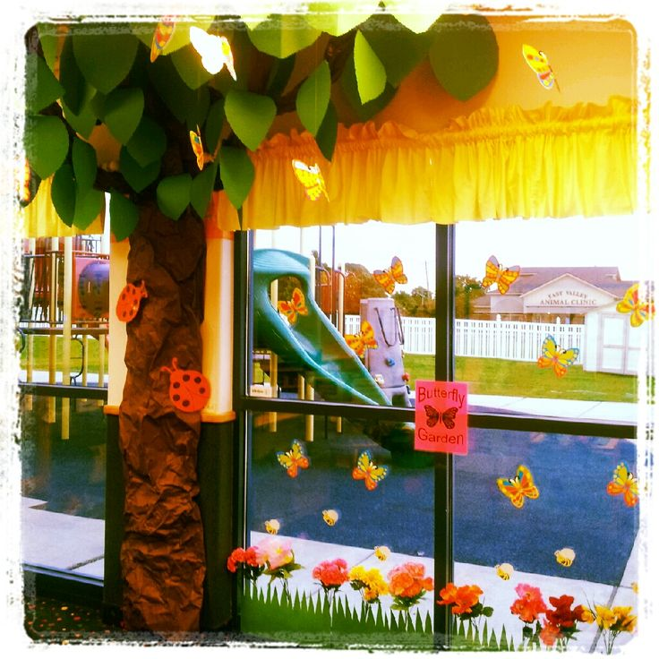 Classroom Decor Garden Theme ~ Best images about preschool classroom decorations ideas