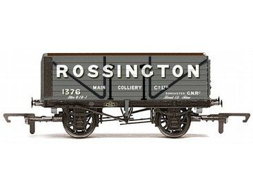 The Hornby Rossington Main Coll. Co. Ltd. - 7 Plank Wagon, in the range of Hornby Wagons accurately recreates the real life wagon.