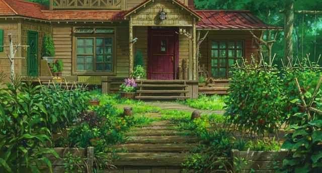 Omoide No Ma Ni Ghibli スタジオジブリ アニメ 背景 風景