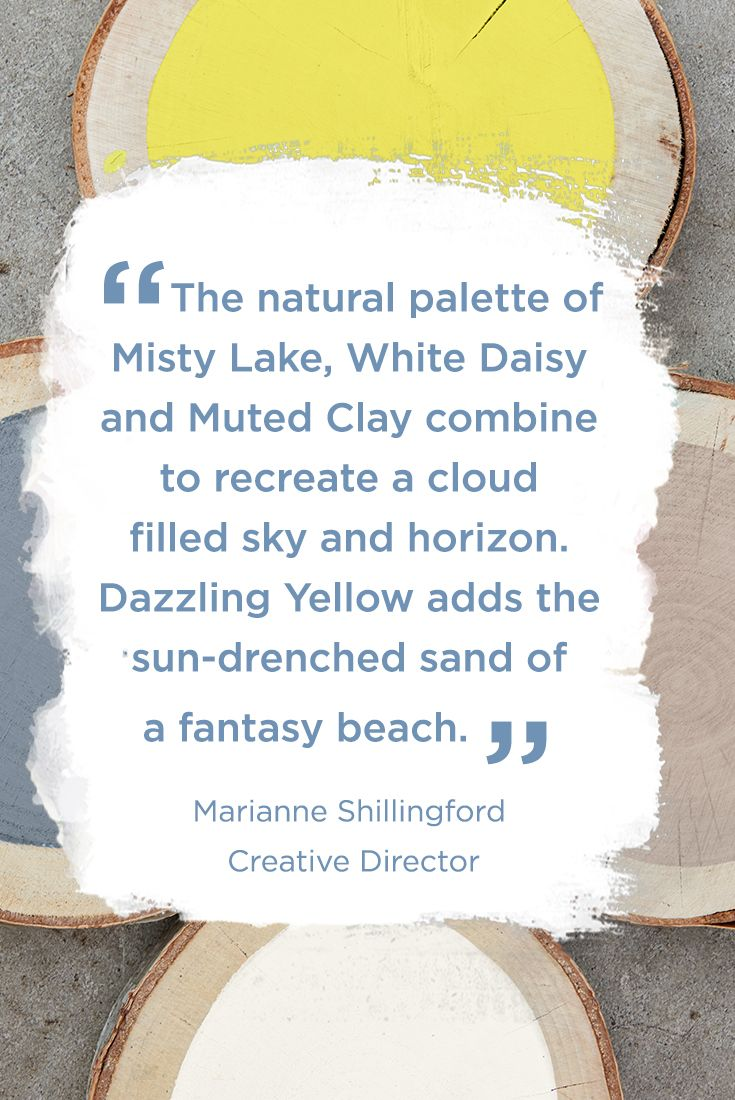 Create a garden space that shines all year round with Cuprinol Garden Shades of Dazzling Yellow, Muted Clay, Daisy White and Misty Lake. Find out how to execute Cuprinol's Family Retreat trend in their Lookbook.