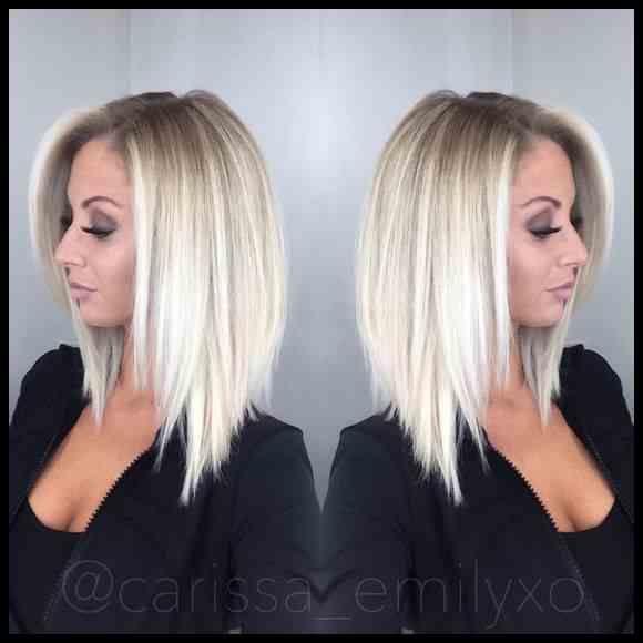 Herbst Haar Farbe 2019 Farbe Frisuren Lange Bob Frisuren Modische Frisuren