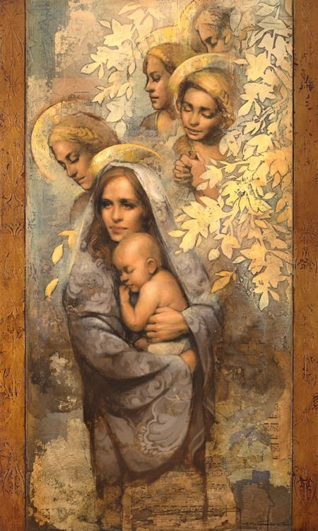 Mother's Lullaby - The Stories Behind 12 Pieces of LDS Art Very pretty!
