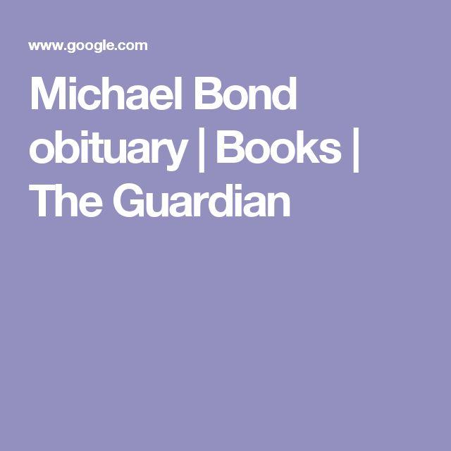 Michael Bond obituary | Books | The Guardian