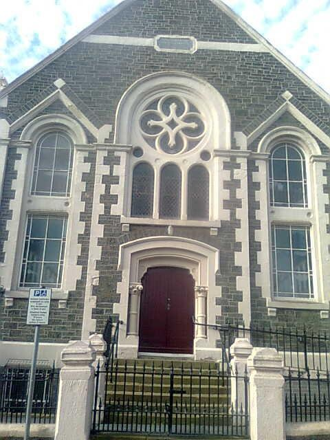 Alfred Place Baptist Church, Aberystwyth. The Director of the Christian Muslim Forum met his wife here, though neither have ever been Baptists.
