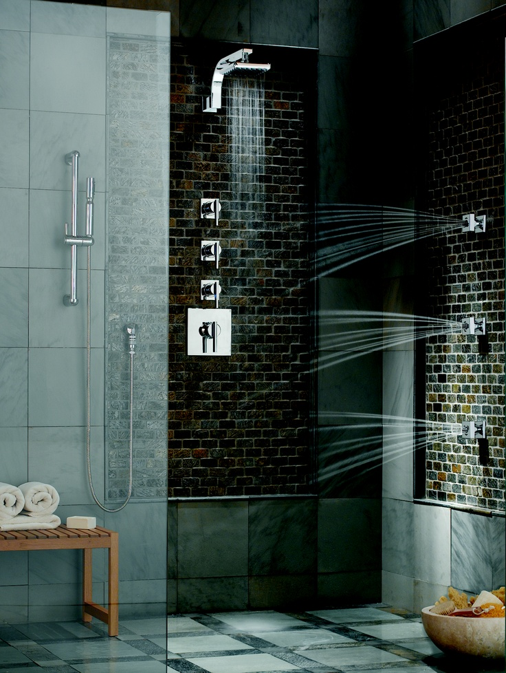 Imagine relaxing in a Sirius Custom Shower from Danze.comShower Heads, Master Shower, Custom Shower, Shower System, Amazing Shower