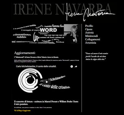 Irene Navarra / Visioni: Poesia / Derive - (Proposito).