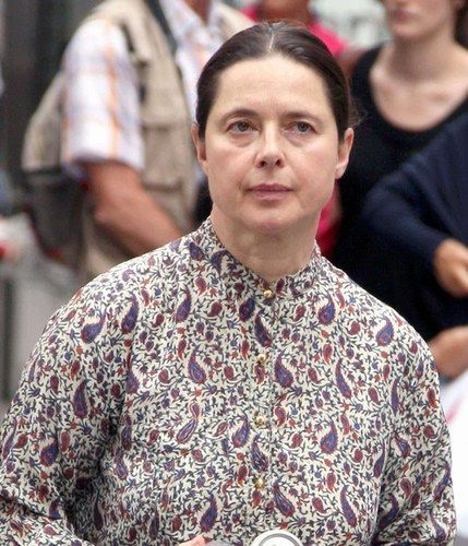 Isabella Rossellini without makeup - Celebrities without makeup