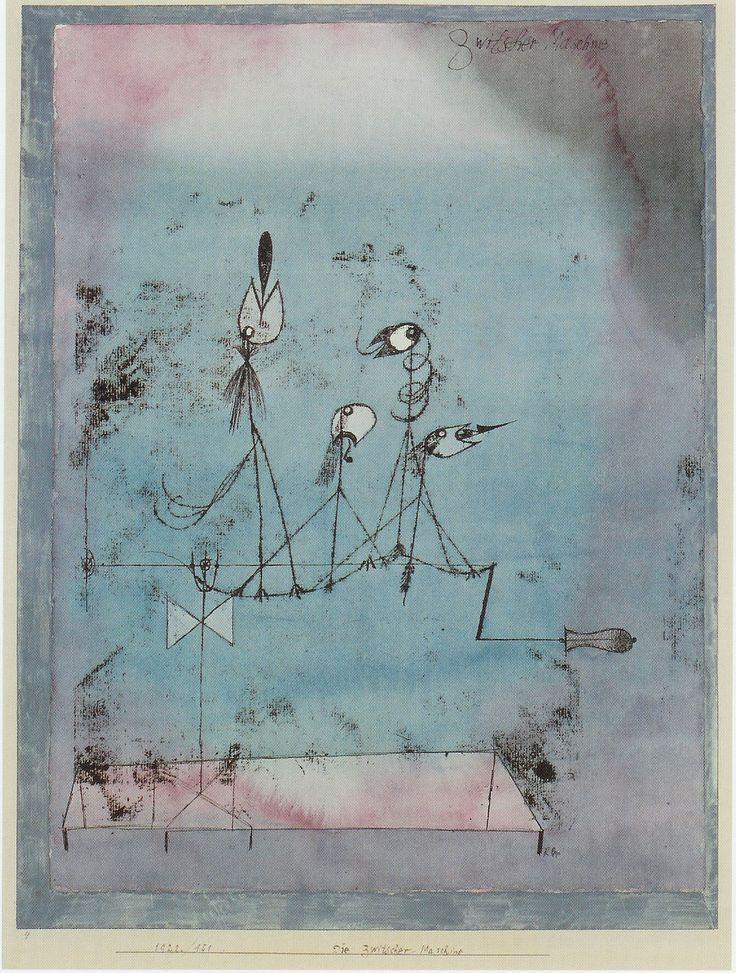 Paul Klee - Twittering Machine
