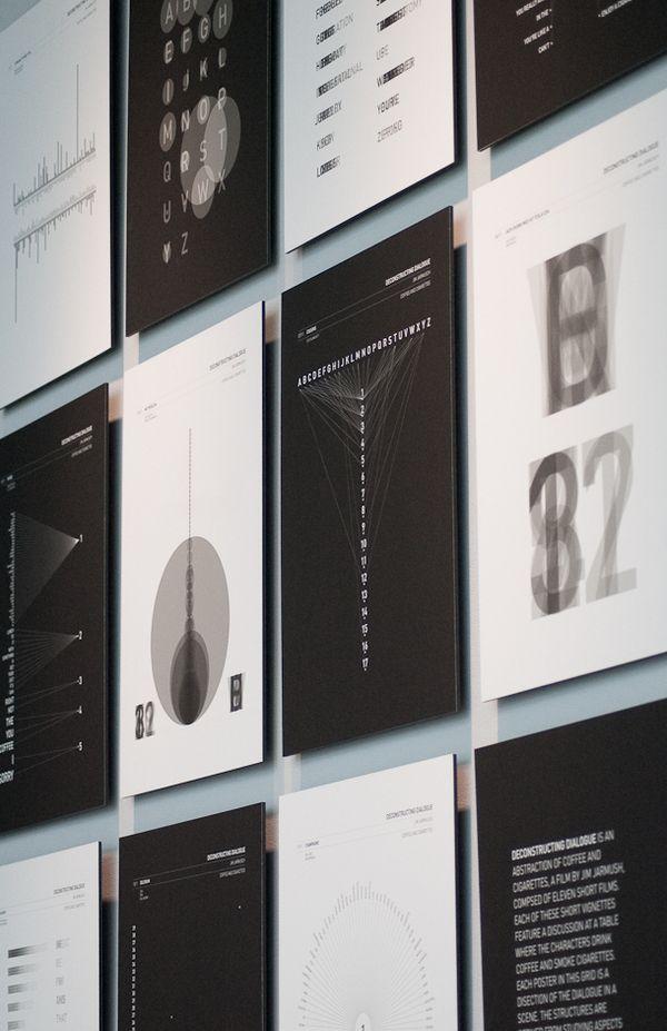 Deconstructing Dialogue by Harilaos Skourtis, via #Behance #Design