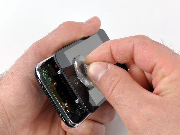 cracked screen - http://www.iphonefixed.co.uk/iphone-repairs/iphone-3gs-repairs/
