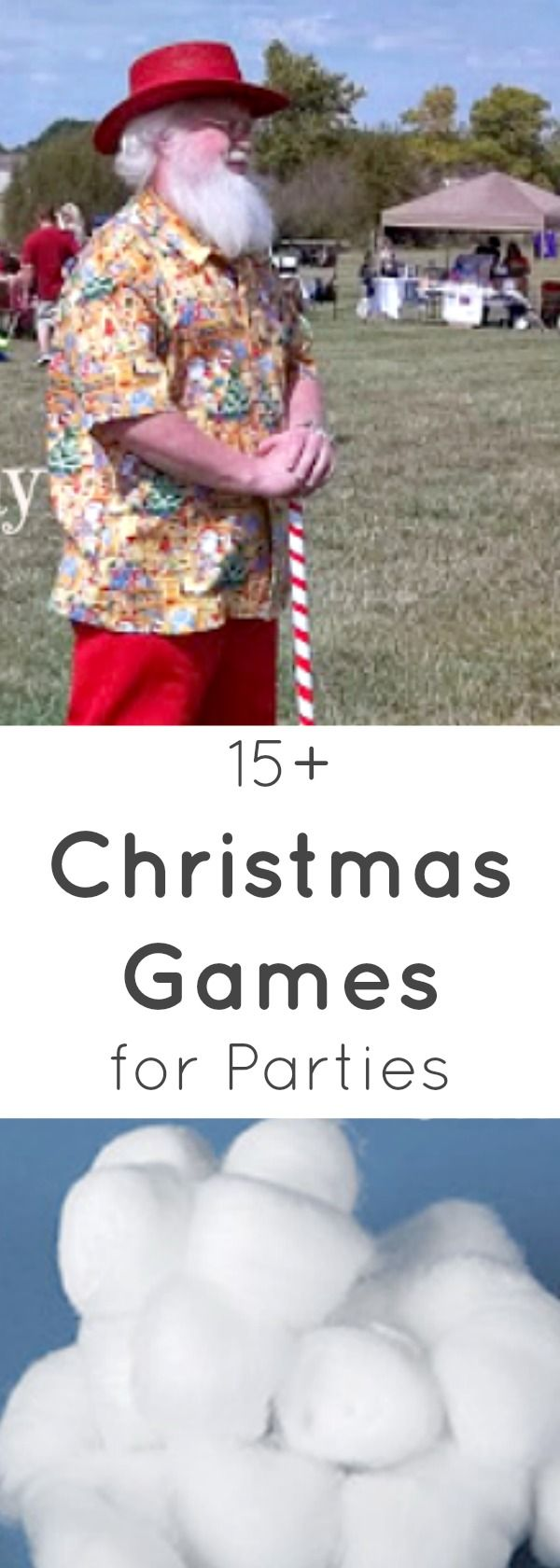 Over 15 games to play at Christmas Parties! Fun for groups, families, and the #officechirstmasparty #gamesforgroups #gamesforkids #gamesforgrownups