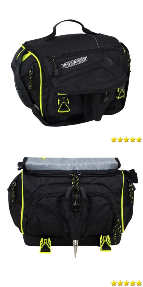 Tackle Boxes and Bags 22696: Waterproof Soft Sided Fishing Tackle Box Storage Bag With External Pockets -> BUY IT NOW ONLY: $38.4 on eBay!
