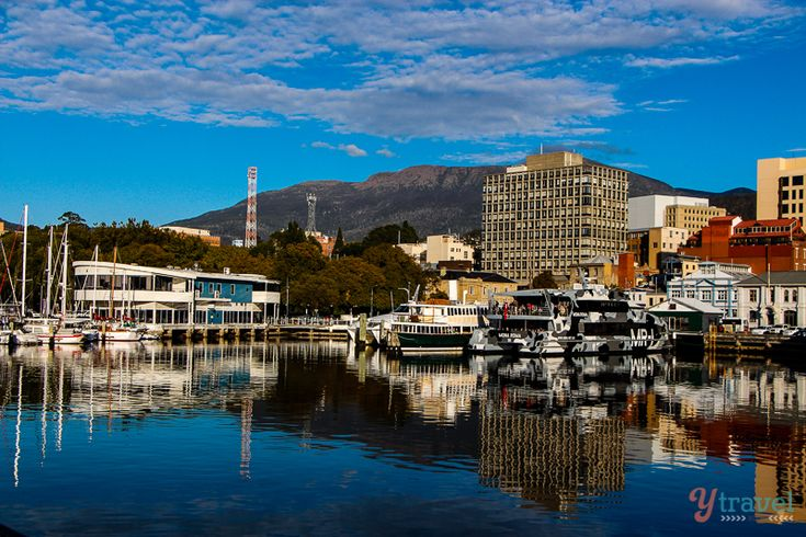 Visit the historic town of Hobart in Tasmania, Australia