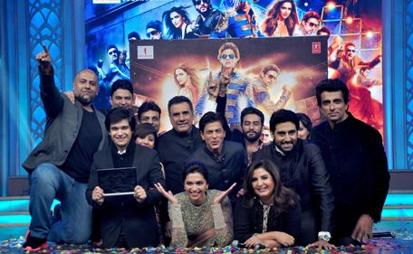 Shah Rukh Khan's last release Happy New Year starring along with Deepika Padukone, Abhishek Bachchan, Boman Irani, Sonu Sood, Vivaan Shah is a boxoffice Blockbuster by grossing almost Rs 350 Crore worldwide has reached a new height. Happy New Year is stated to feature in the Oscar library.
