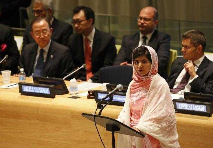 Pakistani Activist Malala Yousafzai Wins EU Sakharov Prize For Human Rights
