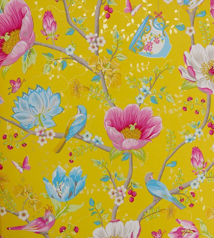 Chinese Garden Wallpaper by Brian Yates | Jane Clayton