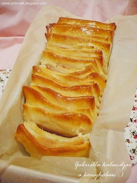 Gabriella kalandjai a konyhában :): Harmonika melegszendvics - sonkával, kolbásszal és sajttal