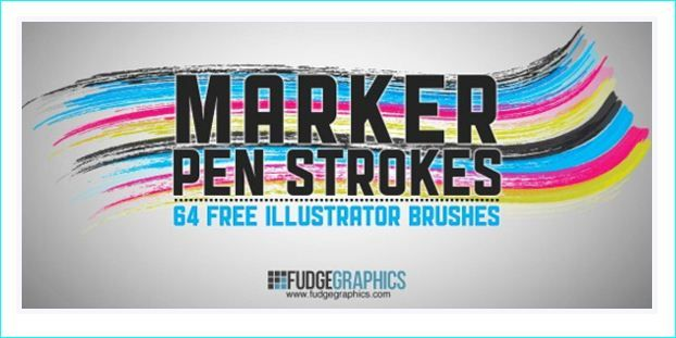 15 High Quality Free Illustrator Brush Sets