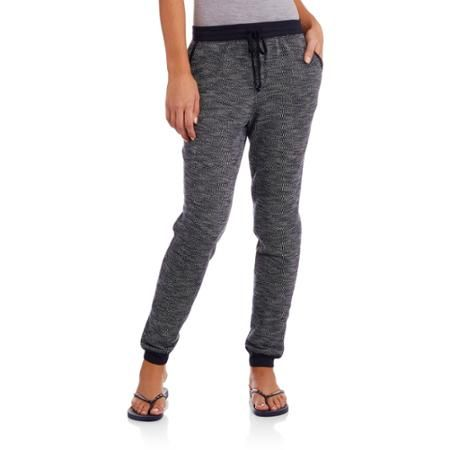 Faded Glory Women's Sporty Knit Jogger Pants:  Super Comfy