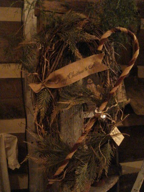 Love this wreath...naturals!!