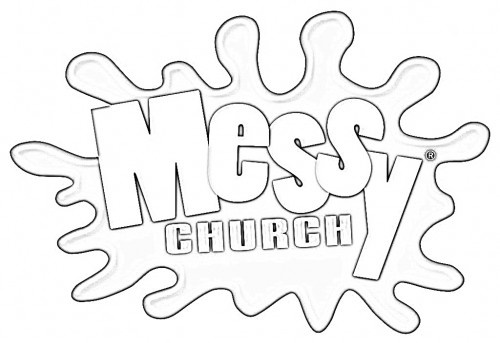 88 best Colour-in pictures for Messy Church images on