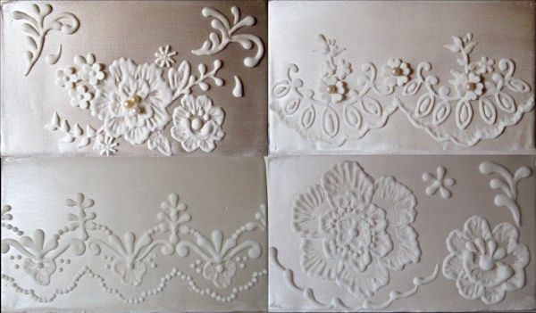 Lace Piping Cake Decorating : Lace piping & Brush embroidery ICING TIPS Pinterest ...