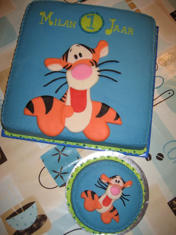 Tigger — Children's Birthday Cakes