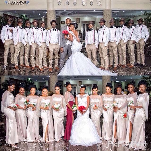 Nigerian Wedding Bridesmaids: Mr & Mrs. In 2019