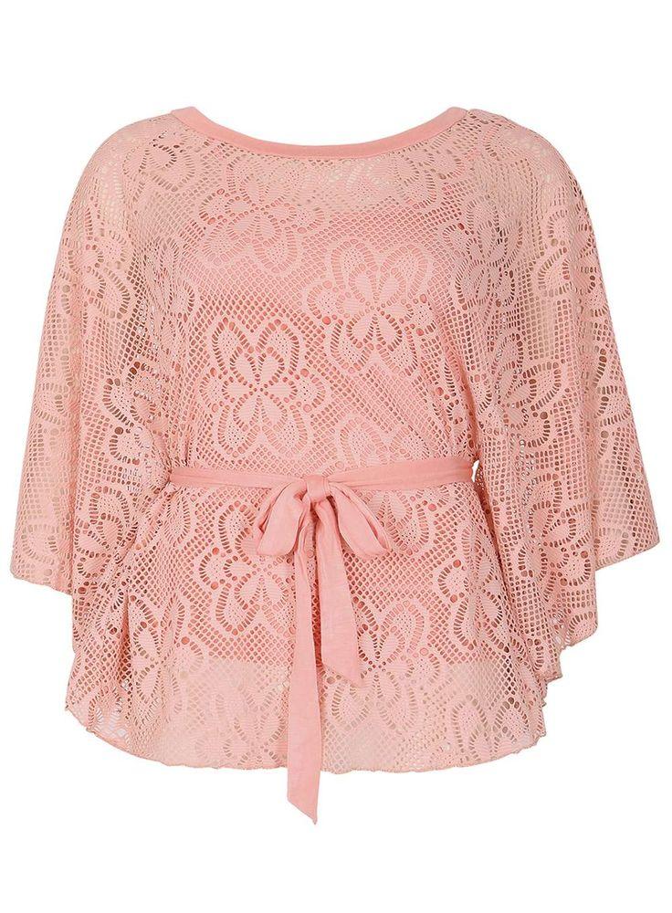Womens *Izabel London Pink Batwing Top- Pink