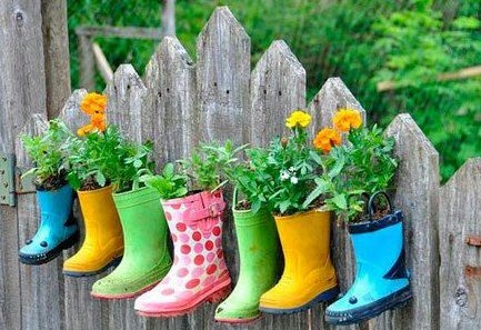 cute idea for all our adorable outgrown & strangely single gumboots!