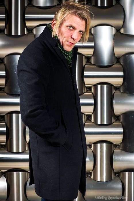 Mikko Siren picture by Nidhal Marzouk Apocalyptica Paris France. Feb 5th 2015 #Apocalyptica #MikkoSiren #Drummer #Suomalainen