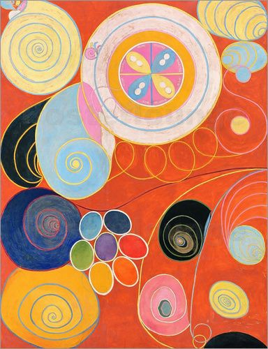Hilma af Klint A Pioneer of Abstraction Poster | Posterlounge