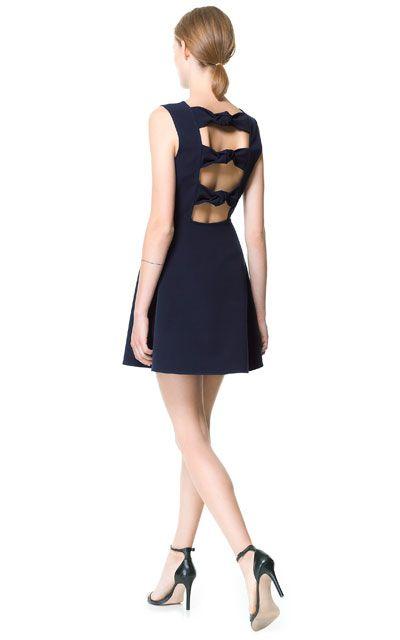 Zara knot back dress.