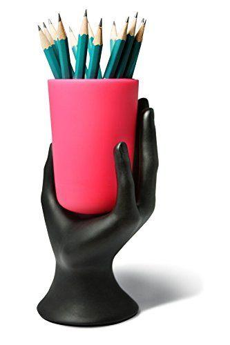 HAND CUP PEN / PENCIL HOLDER by LilGift (Pink) LilGift https://www.amazon.com/dp/B00GI9C4S8/ref=cm_sw_r_pi_awdb_x_2kHQybN02K14Z