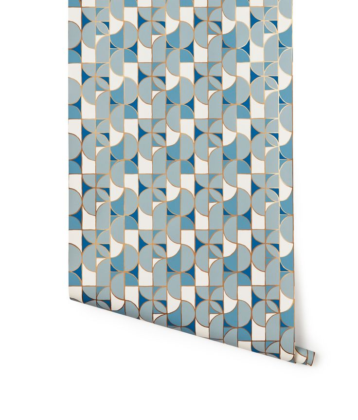 Wallpaper, Slice In Blue   Wallpaper   Heath Ceramics