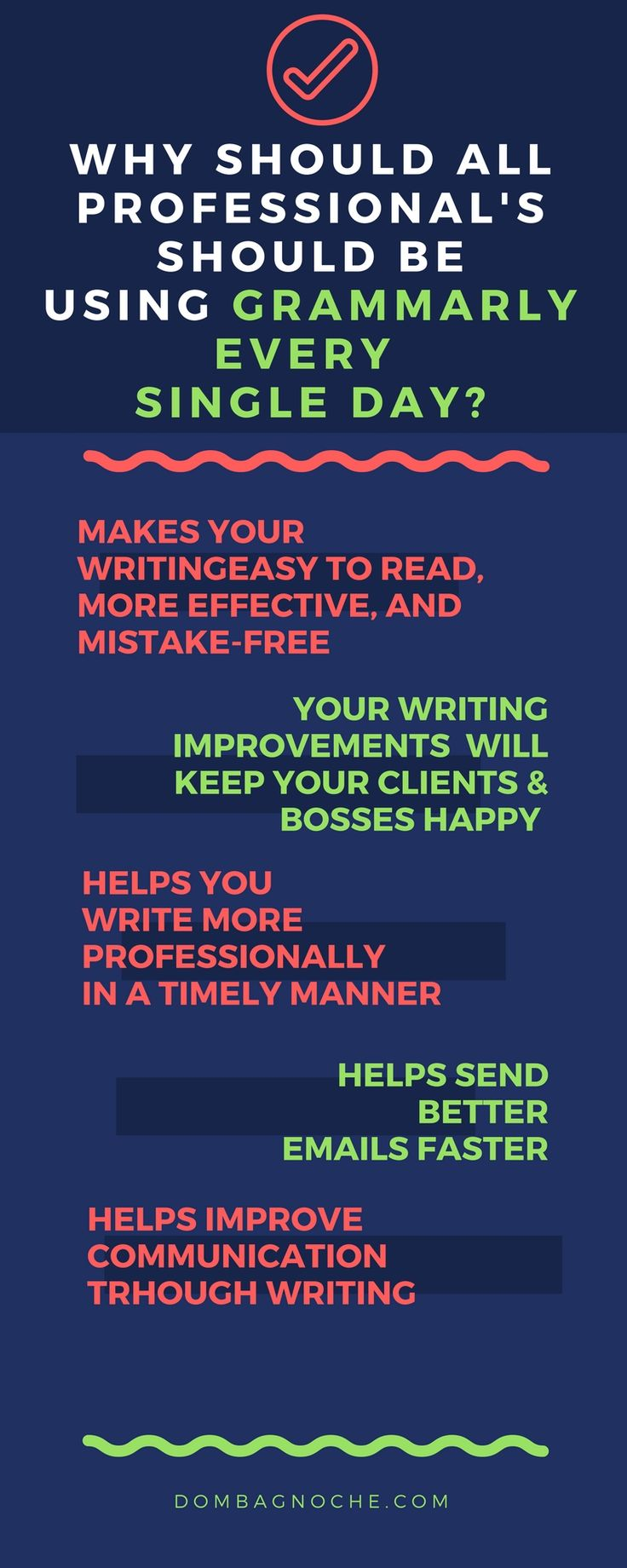 Grammarly is a software that ensures everything you write