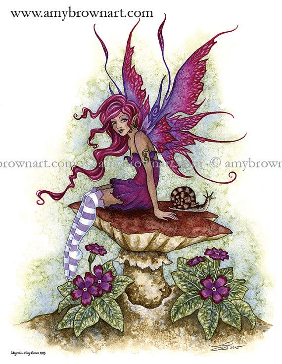 Fairy 8.5x11 PRINT by Amy Brown by AmyBrownArt on Etsy