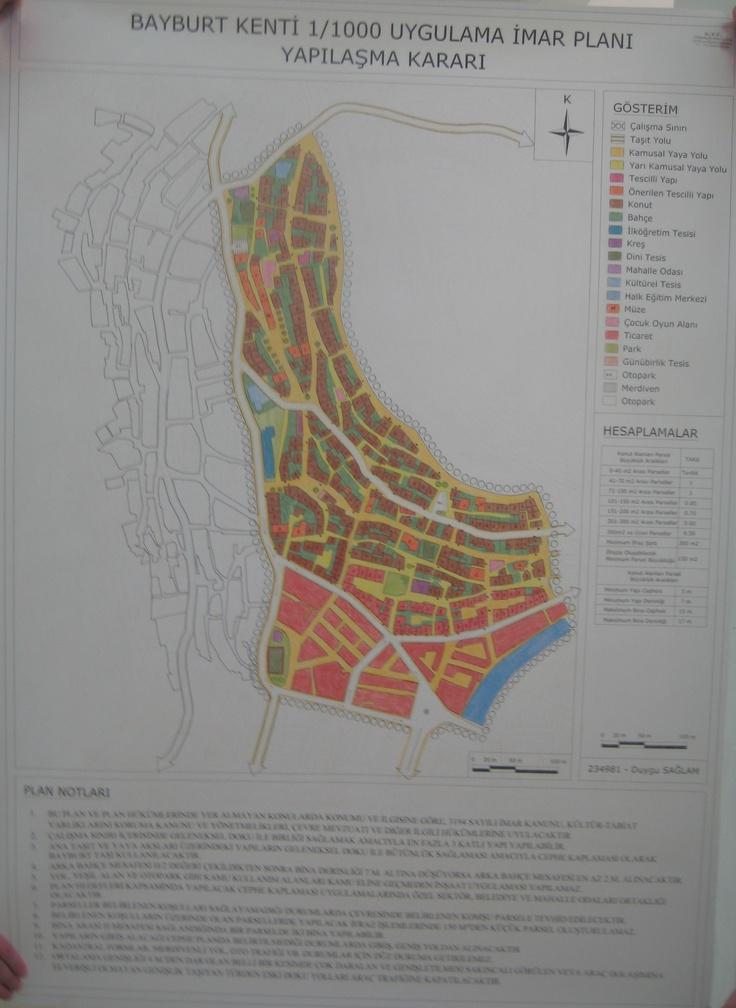 Bayburt Kenti Uygulama İmar Planı