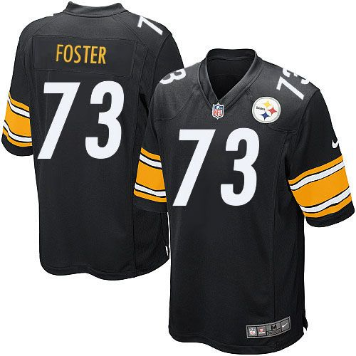 Nike Limited Ramon Foster Black Youth Jersey - Pittsburgh Steelers #73 NFL Home